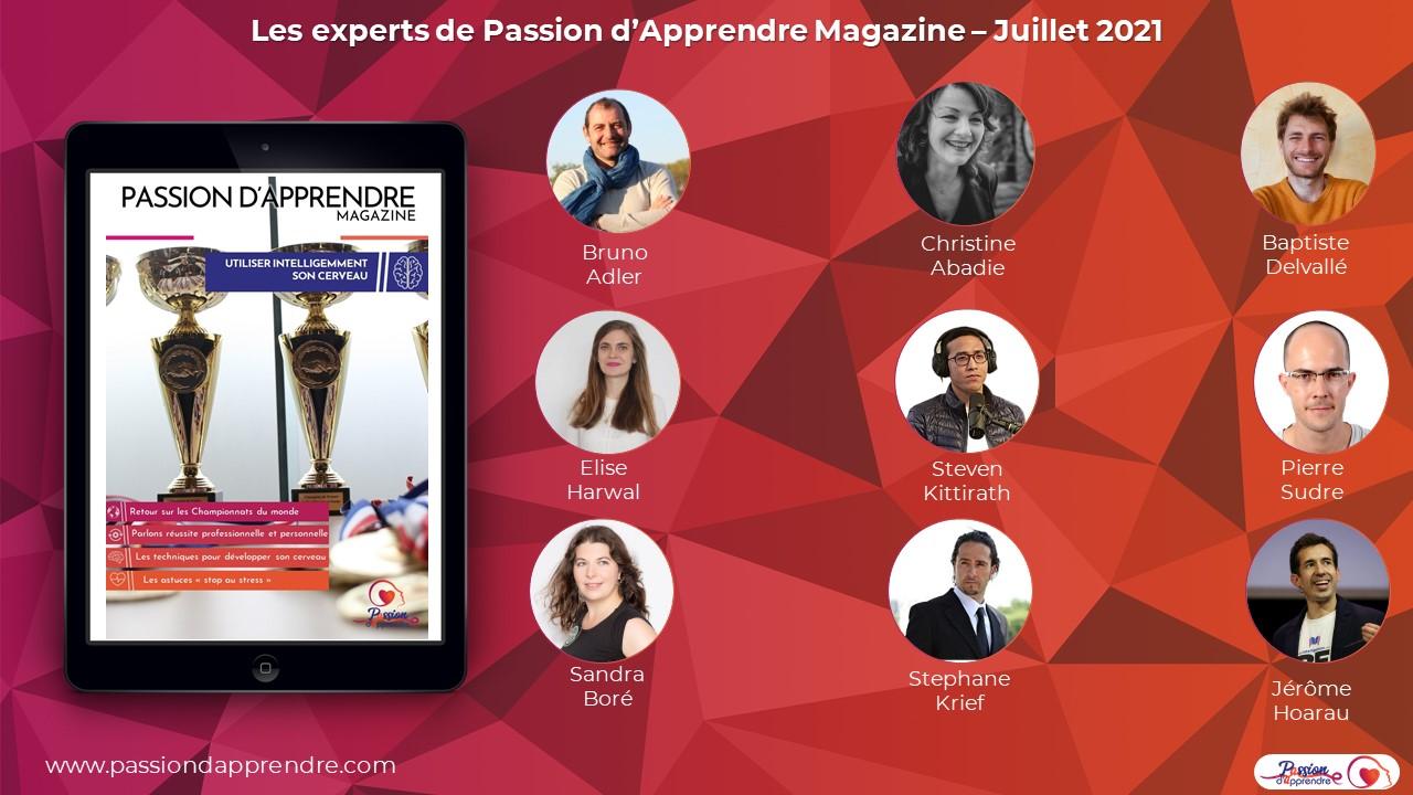 Affiche Magazine juillet 2021