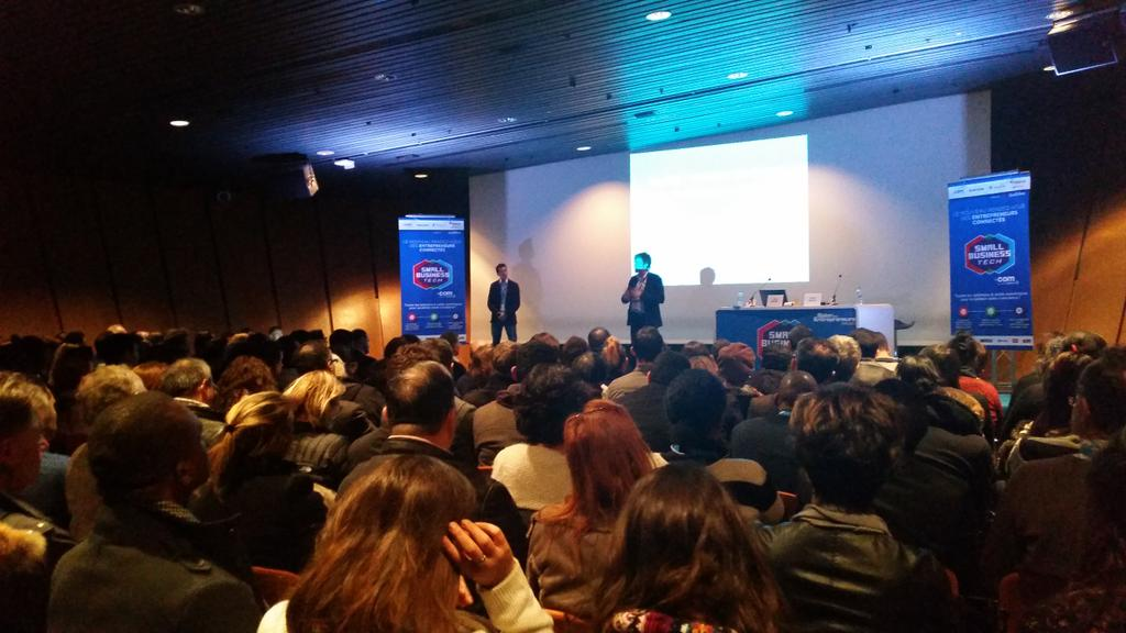 conference Salon des Entrepreneurs jerome