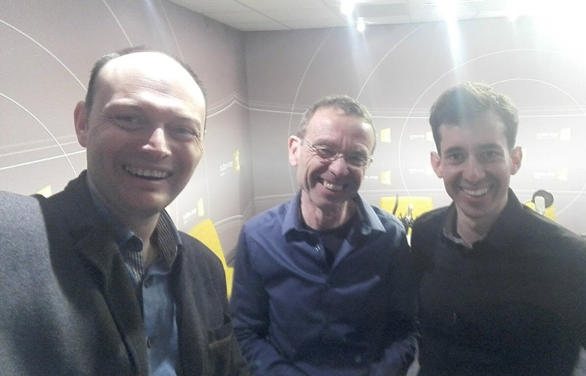 Nicolas Lisiak et Jerome Hoarau sur France Radio