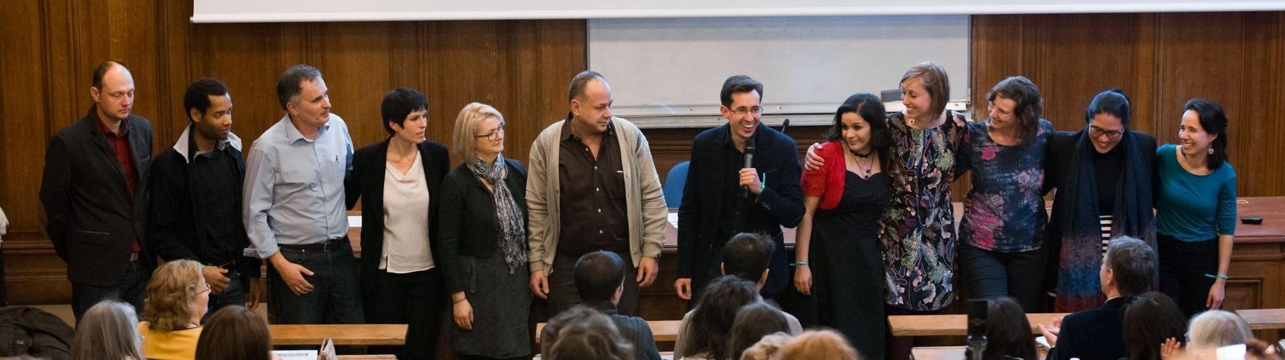 Les Coachs Apprendre à Apprendre après leur conférence à La Sorbonne en janvier 2017