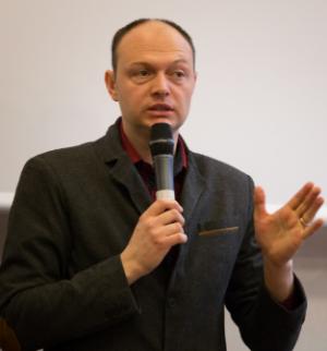 Nicolas Lisiak pendant les Conférences Apprendre à Apprendre